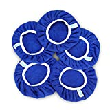 SPTA 9 Inch & 10 Inch Car Polisher Pad Bonnet Soft Microfiber Polishing Bonnet Buffing Pad Cover for 9' and 10' Car Polisher Pack of 5Pcs