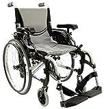 Karman 29 pounds S-305 Ergonomic Wheelchair 18' Pearl Silver