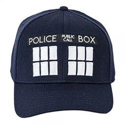 Doctor Who Tardis Navy Flex Hat Cap