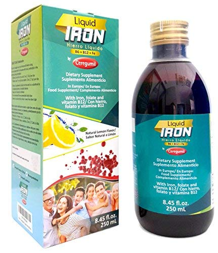 Ceregumil Liquid Iron Supplement