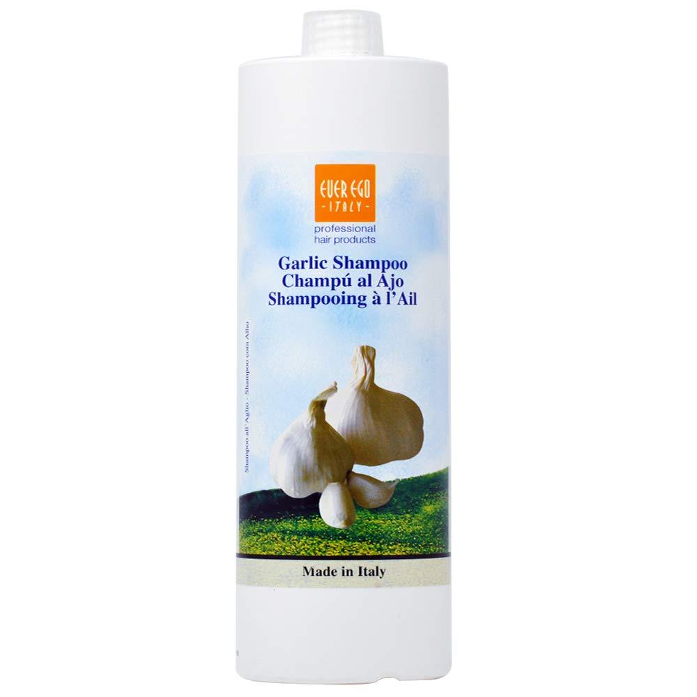 Ever Ego Italy Garlic Shampoo Plus Vitamin A, 33.8 Ounce