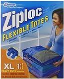 SC Johnson 70161 Ziploc Flex Totes XL - Pack of 6