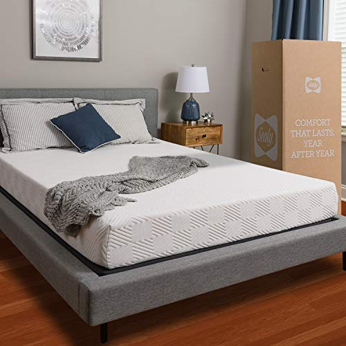 Sealy, 8-Inch, Memory Foam bed in a box, Adaptive Comfort Layers, Medium-Firm Feel, Twin