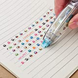 Hot Sale!DEESEE(TM)Creative Stationery Push Correction Tape Lace School Supplies (B)