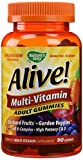 Nature's Way Alive Adult Multi-Vitamin Gummies 90 Gummies (pack of 2)