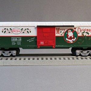 LionChief North Pole Central Santa's Helper BOXCAR 51BCnrDFE L