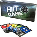 The HIIT Interval Workout Game by Stack 52. Designed by Military Fitness Expert. Video Instructions Included. Bodyweight Exercises, No Equipment Needed. Fun and Motivating Training Program.