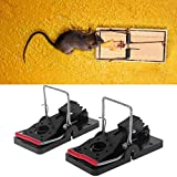 Taka Co Mouse Trap 2 Pcs Snap Mouse Trap Rodent Mouse Trap Catcher Reusable Mouse Control Home Use-