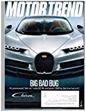 MOTOR TREND Magazine (May 2016) Big Bad Bug 'shir-on'