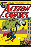 "Action Comics #33 Superman Dc Comic Book Cover Poster Print 22.5 X 34"""