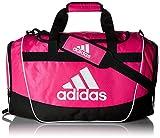 adidas Defender II Medium Duffel Bag, Medium, Shock Pink