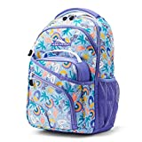 High Sierra Wiggie Lunch Kit Backpack, Pool Party/Lavender/White - Backpack+Lunch Kit