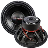 American Bass XFL1522 15' SUBWOOFER AMERICAN BASS DUAL 2 OHM VOICE COILS; 200 OZ. MAGNET
