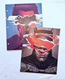 DC COmics Batman & Superman Portfolio Folders - Set of 2