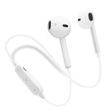 Wireless Bluetooth Headphones – bonsalay in-Ear Headphones – Running Headphones for Women Men – Sport Bluetooth Earphones – Best Sport Wireless Earbuds – Outdoor Portable Bluetooth Earphones(White)