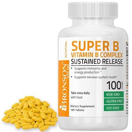 Bronson-Labs-Super-Vitamin-B-Complex-Sustained-Slow-Release-Vitamin-B2-B3-B6-B9-Folic-Acid-B12