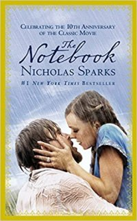 The Notebook by Nicholas Sparks Book Cover