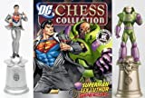 DC Chess Figure Collection Special Superman & Lex Luthor in Battle Suit