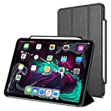 Trianium iPad Pro 11 Inch Case, Compatible iPad 11 2018 Release (Holder Support Apple Pencil Charging) Heavy Duty Full-Body Rugged Protective Cover Smart Foldable Stand/Auto Wake/Sleep Design