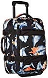 Roxy Junior's Wheelie Suitcase, Anthracite Tropical Love Sample, 1SZ