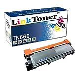 LinkToner TN660 Compatible Toner Cartridge Replacement High Yield for Brother TN-660 BK TN630 Laser Printer DCP-L2520D, L2560DW, HL-L2315DW, HL-L2320D