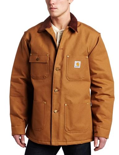Carhartt Men's Duck Chore Coat Blanket...