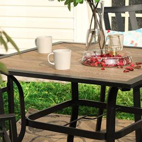 PHI-VILLA-37-x-37-Outdoor-Patio-Square-Dining-Table-with-Metal-Steel-Frame-and-Umbrella-Hole