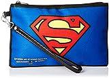 "Buckle-Down Unisex-Adult's Zip Wallet Superman Large, Multicolor, 8"" x 5"""