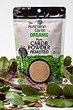 Organic Carob, Australian, Roasted Carob Powder, Superfood, NON-GMO, World's #1 Best Tasting, Roasted Carob Powder, Vegan, Organic Carob Powder, Carob, SharkBar, New Generation Carob, 7.05oz.