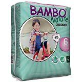 Bambo Nature Eco Friendly Baby Training Pants Classic for Sensitive Skin, Size 6 (40+ lbs), 18 Count