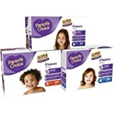 Parents Choice - Baby Diapers - Super Value Box - Size 4 (180 Count)