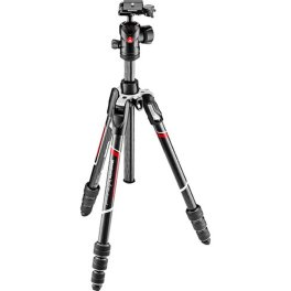 Manfrotto Befree Advanced Carbon Fiber Travel Tripod with 494 Center Ball Head