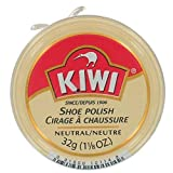 Kiwi 10114 1-1/8 Oz Neutral Shoe Polish