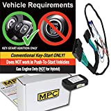 MPC Plug-n-Play Factory Remote Activated Remote Start Kit for 2017-2019 Ford F-350 Super Duty - w/Bypass - Firmware Preloaded