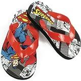 Warner Bros Superman SUS100 Flip Flop (Toddler/Little Kid),Assorted,7 M US Toddler