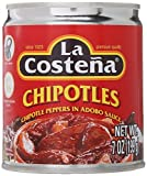 La Costena Chipotle Peppers 7oz.
