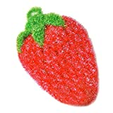 Cradlebeauty Strawberry Shape Super Absorbent Kitchen Washing Dishes Towel Cloth