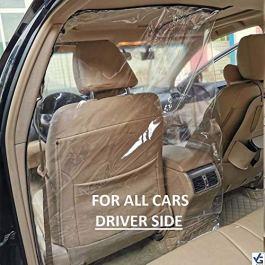 VG DENIM Acrylic polymer Car Safe Protector Divider Film For Cars,Pack of 1