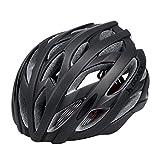 Gonex Wind Cross Road/Mountain Bike Helmet, Bicycle Adult Helmet(All Black)