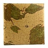lquide Photo Album Creative Map, Pu Cover Page Business Book, 200 Photos - Panorama 6''(6X4.5'') Photos Tourism Love