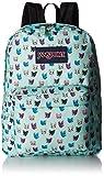 JanSport Superbreak Backpack Brook Grren Cool Cats