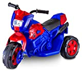 Kid Trax Spiderman Motorcycle 6V Battery-Powered Ride-On Toy