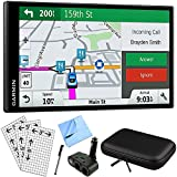Garmin DriveSmart 61 NA LMT-S Advanced Navigation GPS with Smart Features Deluxe Bundle