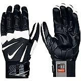 Nike Hyperbeast 2.0 Massive Impact Lineman Gloves, Black/White, Large