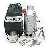 Small Anodized Aluminum Trekker Kelly Kettle Basic Kit
