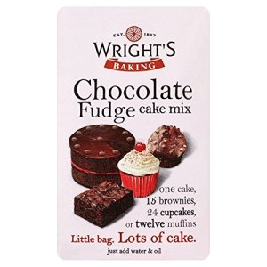 Wright's Chocolate Fudge Cake Mix (500g) – Pack of 2 51C5kX2AWIL