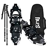 ALPS Adult All Terrian Snowshoes Set for Men,Women,Youth with Trekking Poles,Carrying Tote Bag 22'/25'/27'/30'/34'