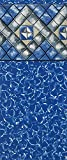 Smartline Manor 24-Foot Round Pool Liner | UniBead Style | 52-Inch Wall Height | 25 Gauge Virgin Vinyl Material | Strong and Durable Liners | Designed for Steel Sided Above-Ground Swimming Pools