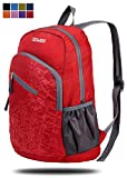 Gowiss Backpack - Rated 20L / 33L- Most Durable Packable Convenient Lightweight Travel Backpack Daypack - Waterproof,Ultralight and Handy (Red, 20L)