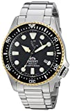 Orient Men's 'Triton' Japanese Automatic Stainless Steel Diving Watch, Color:Silver-Toned (Model: RA-EL0003B00A)